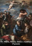 Santi Mario, Marta, Abaco e Audiface