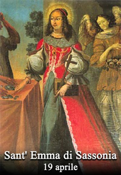 Sant Emma Di Sassonia