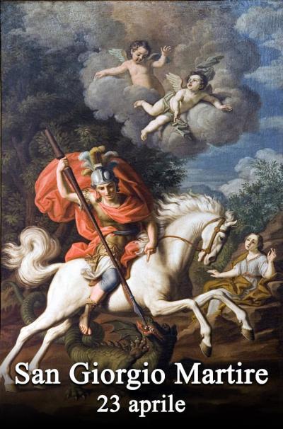 il santo del giorno 23 aprile san giorgio