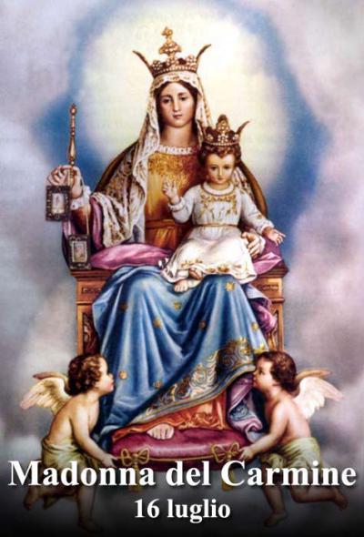 Risultati immagini per La Vergine del Carmelo