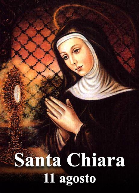 Santo Del Giorno Calendario.Santa Chiara