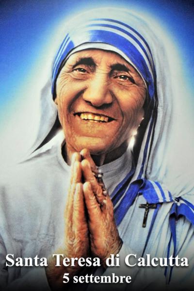 Santa Teresa di Calcutta.