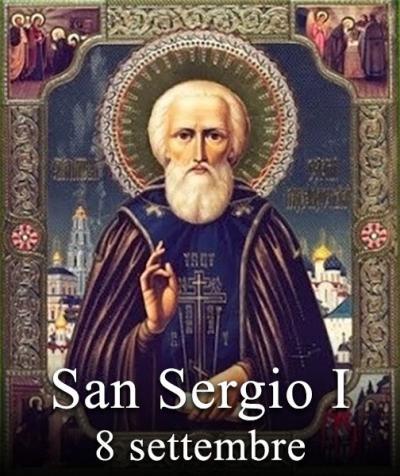 sveti Sergij I. - papež