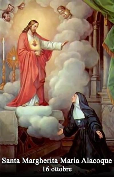 Risultati immagini per santa margherita alacoque