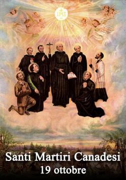 sveti Janez de Brébeuf in tovariši - duhovniki in redovniki, mučenci