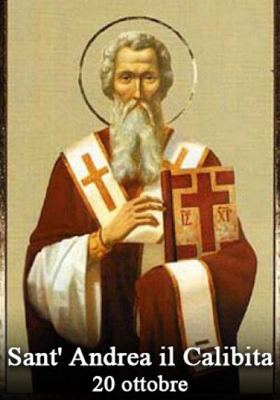 sveti Andrej Kalybit - menih in mučenec