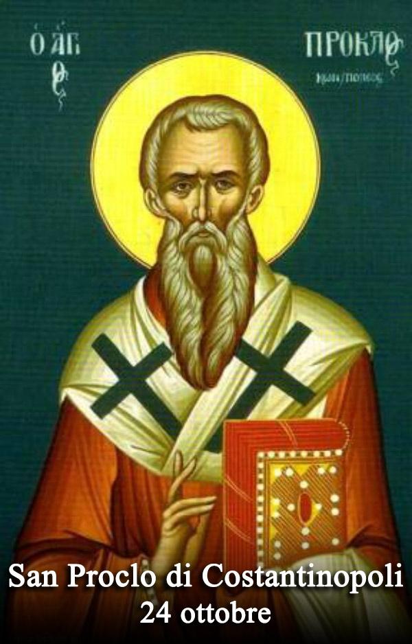 sveti Prokl Carigrajski - škof