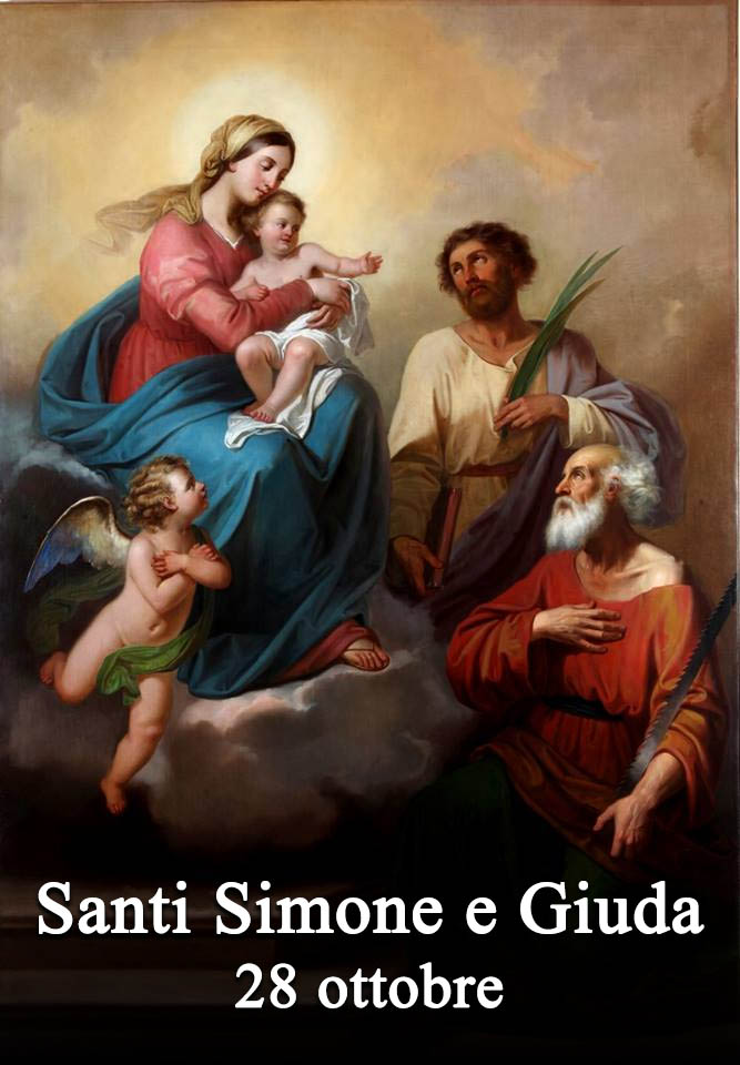 Calendario Santi Ottobre 2020.Il Santo Del 28 Ottobre