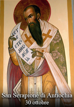 sveti Serapion Antiohijski - škof