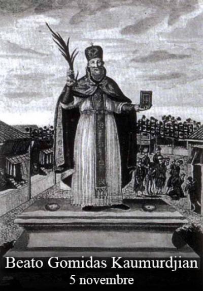 blaženi Gomidas Keumurgian - duhovnik, pridigar in mučenec