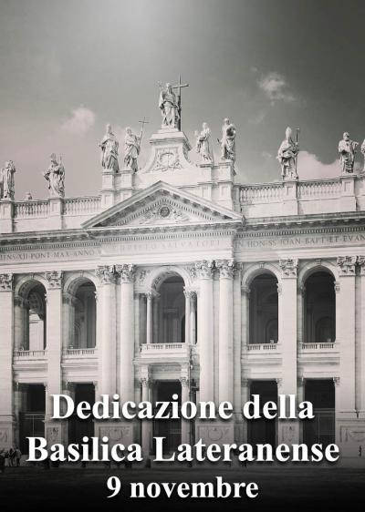 Dedicazione della Basilica Lateranense