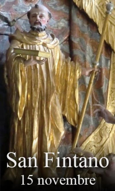 sveti Fintan - misijonar, puščavnik in rekluz