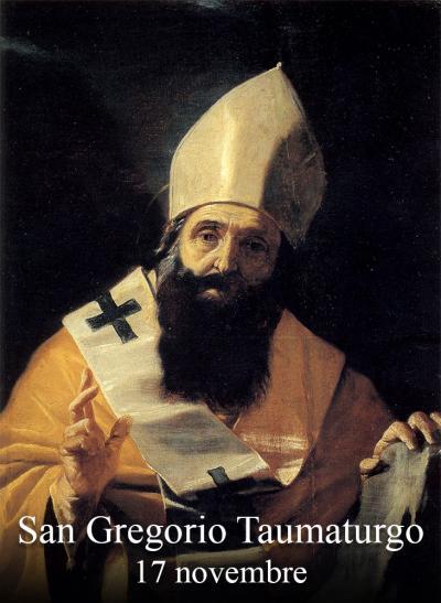 sveti Gregor Čudodelnik - škof