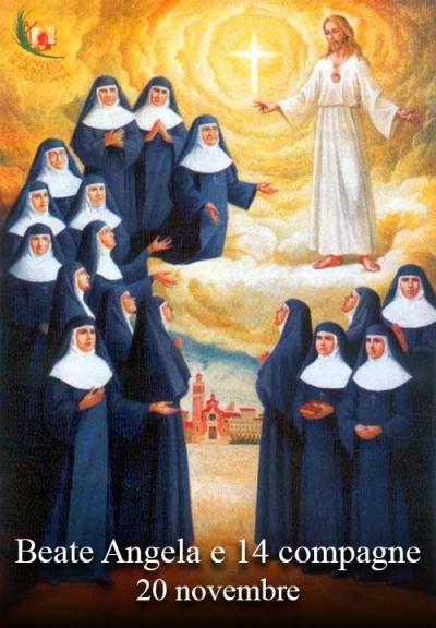 blažena Angela od svetega Jožefa in tovarišice - device, redovnice in mučenke