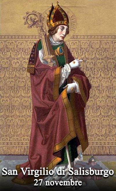 San Virgilio (Vigilio') di Salisburgo