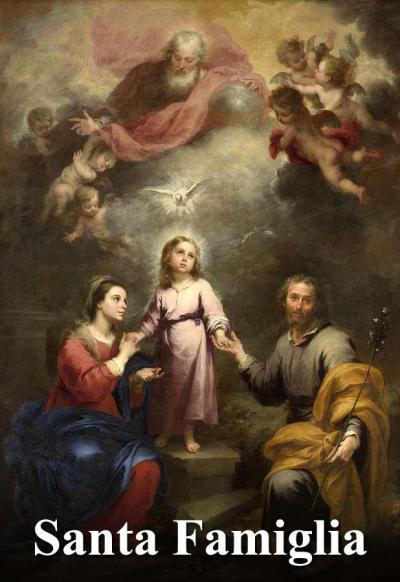 Santa Famiglia Di Gesù Maria E Giuseppe