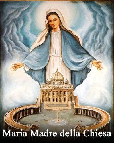 Risultati immagini per Beata Vergine Maria Madre della Chiesa