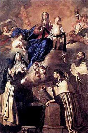 Santa Teresa d'Avila e i Carmelitani