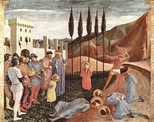 Decapitazione dei Santi Cosma e Damiano