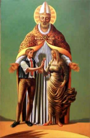 San Valentino Sabino e Serapia