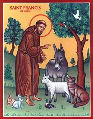 San Francesco e gli animali