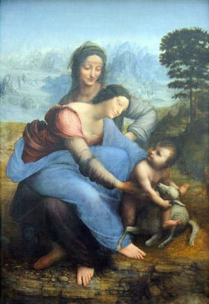 Sant'Anna la Vergine e il Bambino