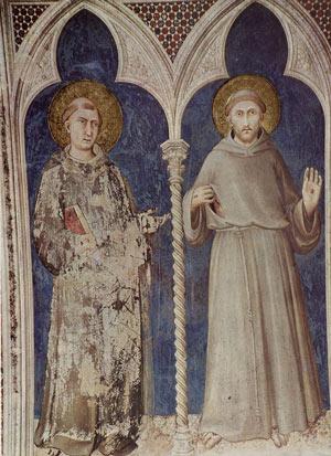 Sant'Antonio di Padova e San Francesco