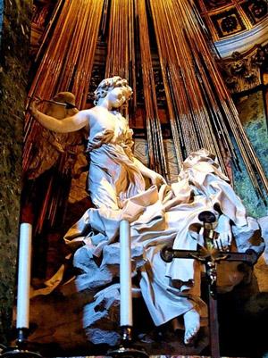 Statua Santa Teresa d'Avila