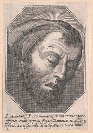 Testa di Sant'Anastasio