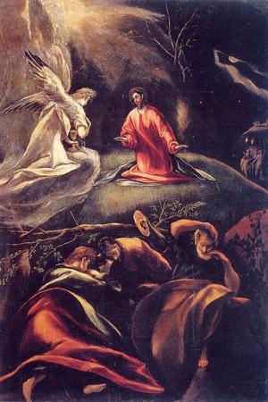 Prima Stazione Gesù nel campo degli ulivi