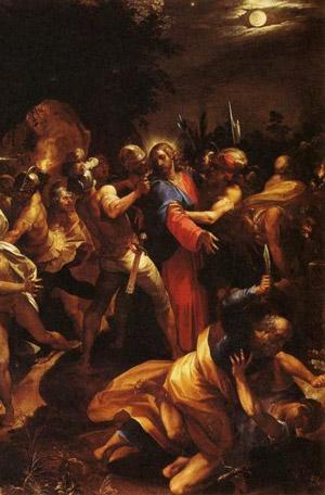 Seconda Stazione Gesù tradito da Giuda