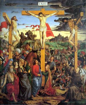 Undicesima Stazione Gesù promette il suo regno al buon ladrone