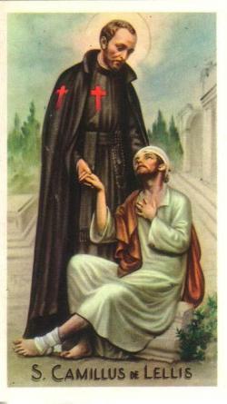 Risultati immagini per San Camillo de Lellis
