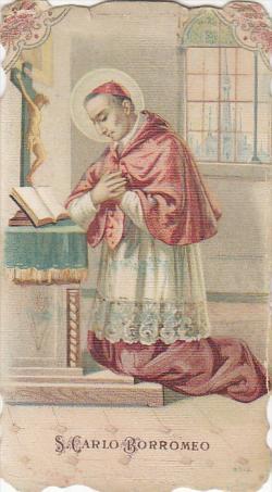 Santino di San Carlo Borromeo