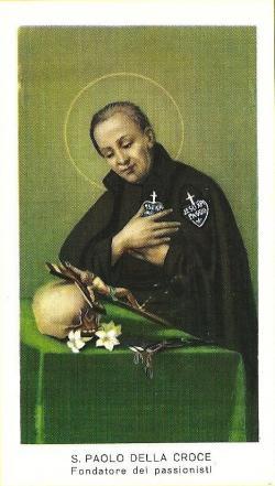 Santino di San Paolo della Croce
