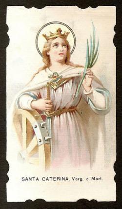 Santino di Santa Caterina d'Alessandria