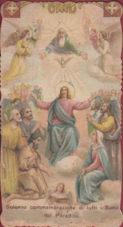 Santino di Tutti i Santi